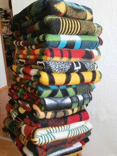 vintage TETEM blankets