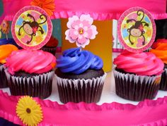 Monkey love cupcakes - photo#16