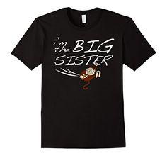 Big Sister T Shirt, Big Sister Gifts, Sister Shirts, Funny Kids Shirts, Sisters, Amazon, Mens Tops, Fashion, Moda