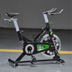 Marcy Deluxe Club Revolution Cycle - Black (Black, Gray, Green)