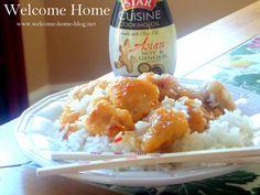 Welcome Home Blog: Chinese Orange Chicken