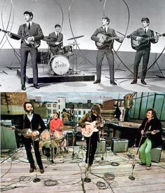 I remember watching The Beatles on The Ed Sullivan Show ~ I was 10 years old ~ my all time favorite!!