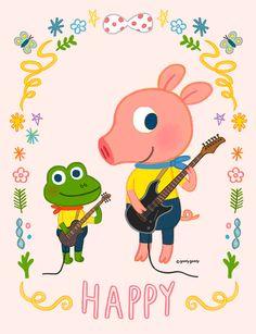 GOOLYGOOLY FRIENDS / Daisy&Pobi www.goolygooly.com