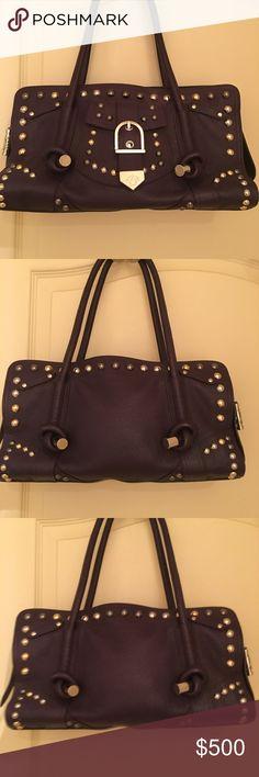 Versace Handbag Versace vintage purple handbag Versace Bags Shoulder Bags