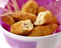 Croquettes de pommes de terre jambon et munster