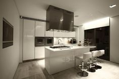 contemporary kitchen in Istanbul
