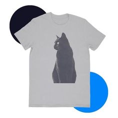 Shop Online cool t-shirts designed by hundreds of top artists and express who you cotton for maximum comfort, printed individually for ultimate quality. Super Soft Cotton Direct-to-Fabric Technology OEKO-TEX® Certified Maximum Fit Half Sleeves Gifts For Pet Lovers, Pet Gifts, Cat Lovers, Hipster Cat, Cheap Pets, Cat Sweatshirt, Love T Shirt, Cat Shirts, Shirt Designs