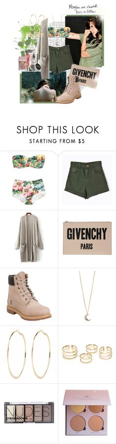 """""""Baby get my blood pumping."""" by brook-s18 ❤ liked on Polyvore featuring Dolce&Gabbana, Chicnova Fashion, Givenchy, Timberland, Aéropostale, River Island, H&M, Anastasia Beverly Hills, NARS Cosmetics and Too Faced Cosmetics"""