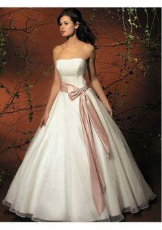 Simple Wedding Dresses | Kindly Reminder: Colors Add Brilliance to Your Simple Wedding Dresses