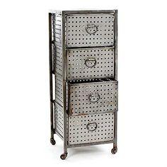 Industrial Bin Cabinet at HudsonGoods.com