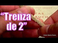 """Trenza de 2 """"El Rincón del Soguero"""" - YouTube"""
