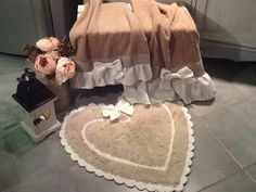 Asciugamani e tappeto