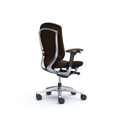 Okamura (Japan)A true icon lasts. Since Contessa has set the standard for Work Chair, Comfort Colors, Office Chairs, Furniture Design, Interior Design, Brown, Leather, Home Decor, Nest Design