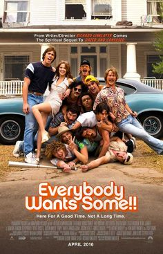 Everybody Wants Some (2016) 11x17 Movie Poster
