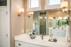 Our 2015 Parade of Homes home at our Canyon Hills community. Check out the customization we can offer to your home. Parade Of Homes, Vanities, Ceilings, Bathrooms, Windows, Mirror, Gallery, Inspiration, Home Decor
