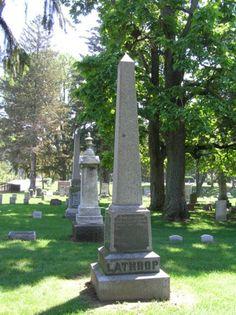 obelisk Ravine Cemetery Sylvania, Ohio