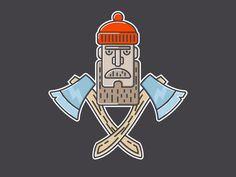 Lumberjack by Oleg Zodchiy