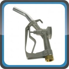 """Manual Diesel Nozzle Aluminum  Quick Overview: For use with gravity feed tanks or electric pumps. Max flow 80L/min  Product code: 50002 Excl. Tax: £13.90 Incl. Tax: £16.68  ONLY suitable with diesel or biodiesel up to B30 - Cast aluminium body - 1"""" BSPF swivel inlet - Integral hook for tidy storage when not in use - Max pressure 50 psi (3.5 bar)"""