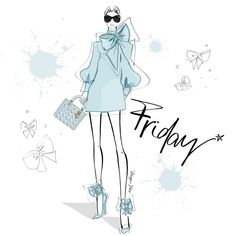All bowed up and ready to go.... into THE WEEKEND!! Happy FRIDAY Everyone! Xxxx