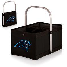 NFL Urban Basket - Black (Carolina Panthers) Digital Print