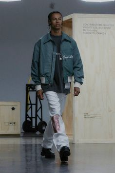 Upcycled Vintage, Vintage Cotton, Striped Jacket, Contemporary Fashion, Streetwear Fashion, New York City, Street Wear, Bomber Jacket, Menswear