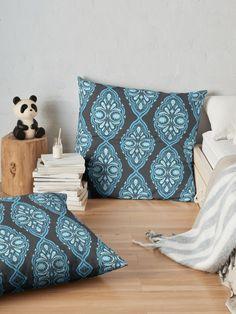 Paisley fashion stripes  Floor Pillows