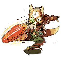 smash bros wii u fox Star Fox, Game Character, Character Design, Fox Mccloud, Super Smash Ultimate, Nintendo Super Smash Bros, Nintendo Characters, Art Memes, Mario Bros