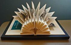 Custom Book Sculpture