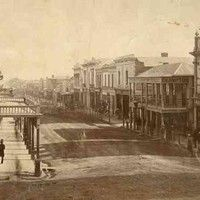 Hindley Street, Adelaide, from the King William Street intersection, c1865. Susan would have been in her teens when this was taken City Of Adelaide, Williams Street, Busy Street, King William, Listed Building, City Council, West End, South Australia, World War Two