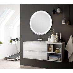 Porcelain Sink, White Porcelain, Bathroom Furniture, Bathroom Ideas, Shower Hose, Vanity Cabinet, Venus, Particle Board, Contemporary Decor