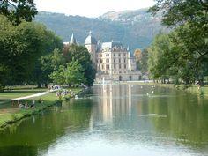 Le château de Vizille, à Vizille (Isère)