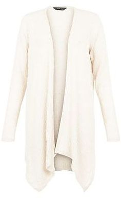 Womens cream cardigan from New Look - £14.99 at ClothingByColour.com