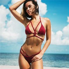 d1645c79f6f Women s Bikinis Sexy Thong Bottom Bathing Suit – Fashion Fit N Bliss Sexy  Bikini