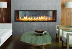 Heat Up Your Living Space with a Red-hot Fireplace | BCLiving