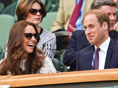 HAVING A BALL photo | Kate Middleton, Prince William