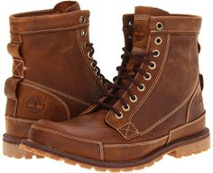 Timberland Earthkeepers Rugged Original Leather 6 Boot (Brown) - Footwear on shopstyle.com