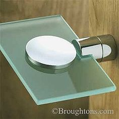 Website With Photo Gallery Samuel Heath Soap Dish with Frosted Glass Polished Chrome
