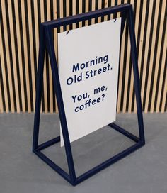 'A' Boards, 'A' Frames or Pavement Boards UK – Goodwin & Goodwin™ - London Sign Makers Cafe Signage, Store Signage, Retail Signage, Wayfinding Signage, Signage Design, Coffee Shop Signage, Signage Board, Menu Boards, Cafe Shop Design