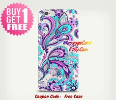 Flower Paisley Clear Tpu iPhone Case Clear iPhone by MessageCard