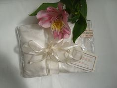 Recycled White Chakra  Herbal Pillow, £16.99