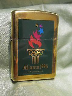 ZIPPO-LIGHTER-1996-ATLANTA-OLYMPIC-100-DATED-1992-RARE