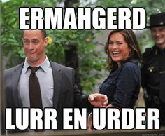 SVU! hahahaha. I legit laughed out loud. Best thing I've seen all day!