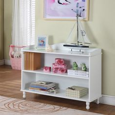 Shop for Children's 2-shelf White Bookcase. Get free delivery at Overstock.com - Your Online Furniture Outlet Store! Get 5% in rewards with Club O!
