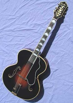 1937 Epiphone Masterbilt DeLuxe acoustic archtop guitar