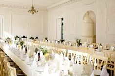 Long, elegant banqueting tables - Google Search