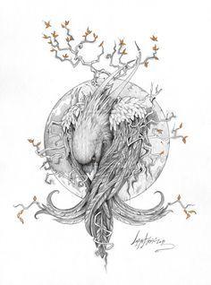 The Raven by Lab-27.deviantart.com on @deviantART