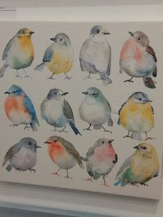 Ideas for painting bird watercolor water colors Watercolor Bird, Watercolor Animals, Watercolour Painting, Painting & Drawing, Watercolor Artists, Watercolor Portraits, Watercolor Landscape, Landscape Art, Vogel Illustration