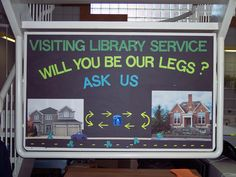Bracebridge Public Library offers a delivery service to our shut-in patrons, matching one patron with one volunteer.