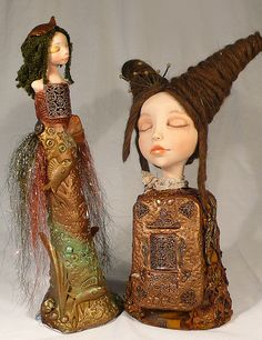 Jessica Hamilton - Two dolls, Layered doll and Secrets Bust