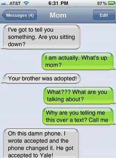 Bombshell blunder: One child almost finds out their sibling might be adopted over the phone
